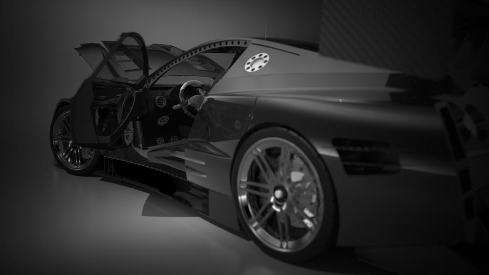دانلود پروژه طراحی خودرو سوپر اسپرت نیسان جی تی-آر Nissan GT-R (1)