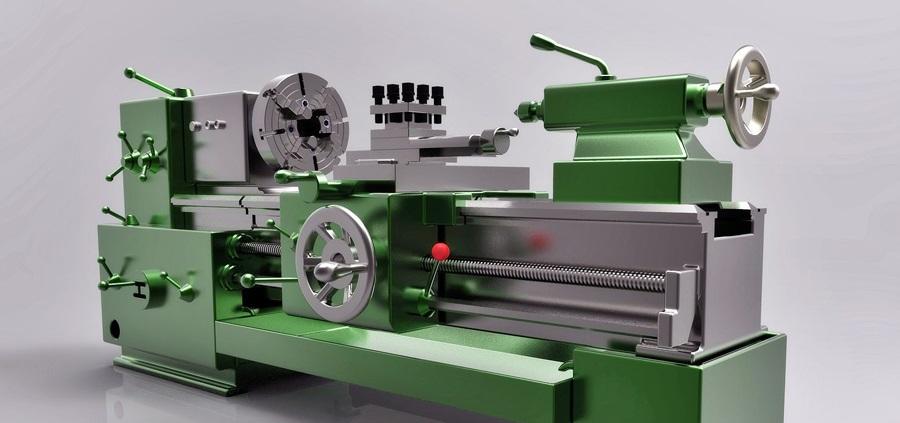 دانلود پروژه طراحی دستگاه تراش Lathe Machine