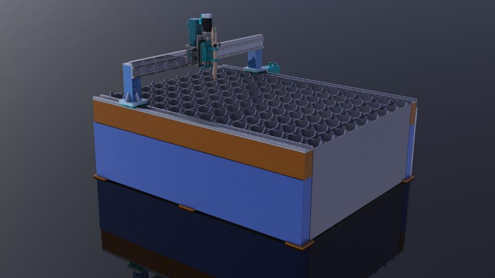 دانلود پروژه طراحی سی ان سی پلاسما برش (cnc plasma cutter) (2)