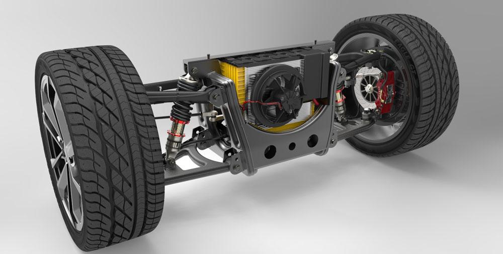 دانلود پروژه طراحی موتور خودرو برقی +سیستم تعلیق،باتری و كنترلر موتور (2)