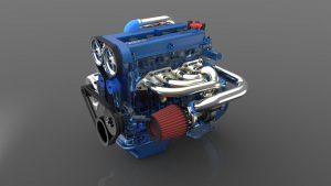 دانلود پروژه طراحی موتور خودرو فورد زیتک Zetec (1)
