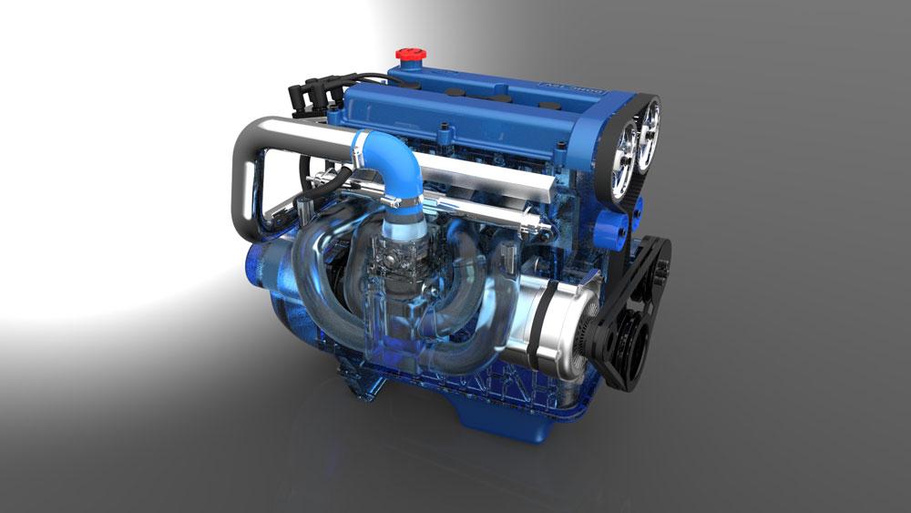 دانلود پروژه طراحی موتور خودرو فورد زیتک Zetec (2)