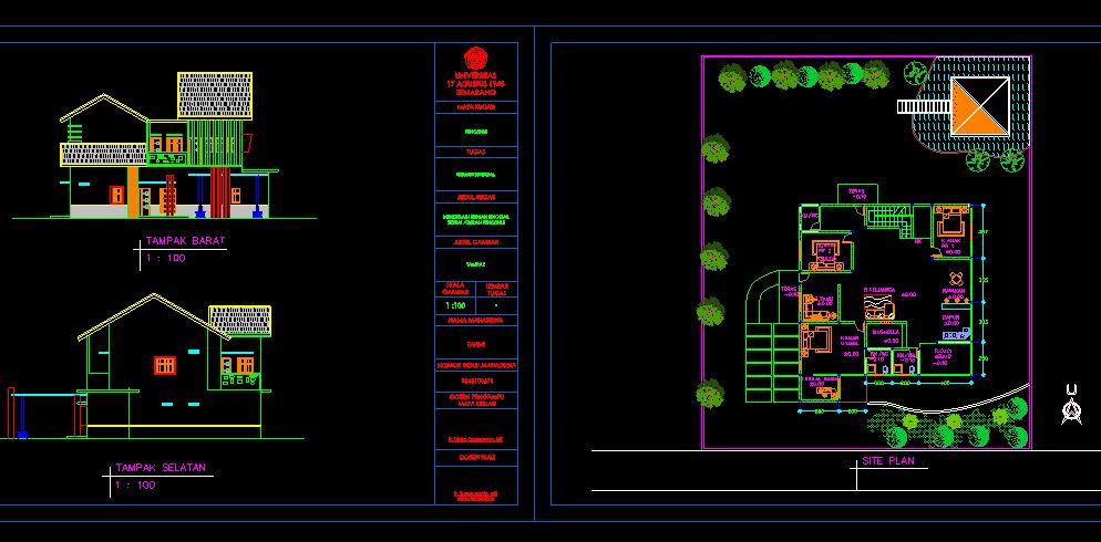 دانلود پروژه طراحی نقشه خانه ییلاقی