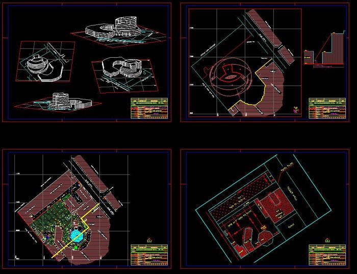 دانلود پروژه طراحی نقشه و پلان بیمارستان کودکان (2)