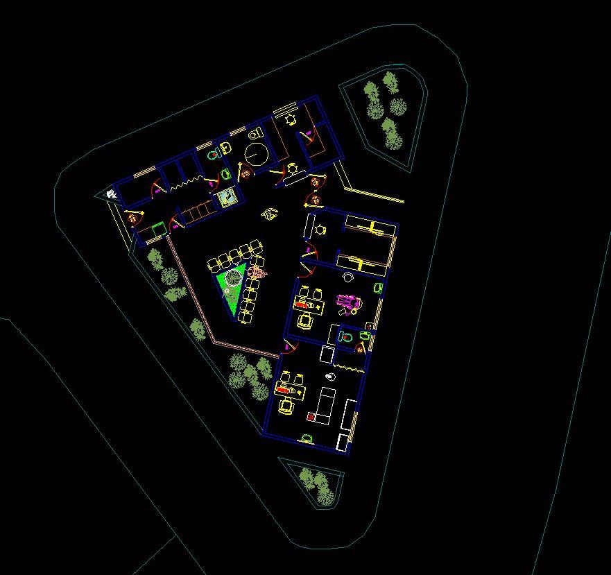 دانلود پروژه طراحی نقشه و پلان خانه بهداشت مدرن