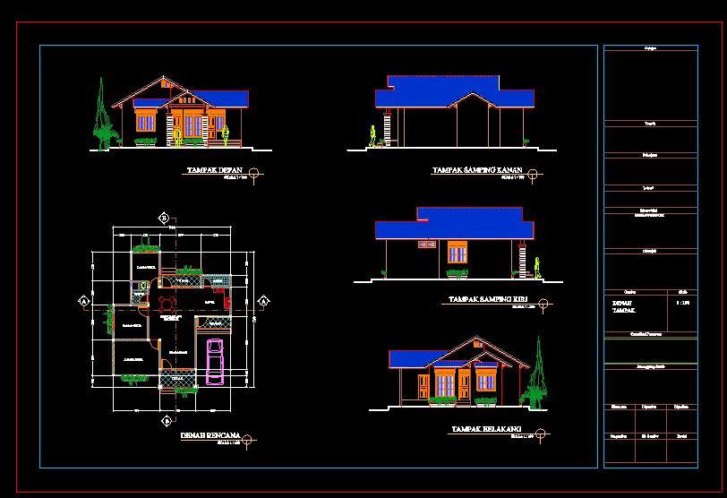 دانلود پروژه طراحی نقشه و پلان ویلا شیروانی (8)