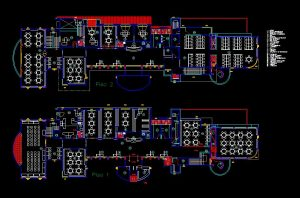 دانلود پروژه طراحی نقشه و پلان کتابخانه عمومی
