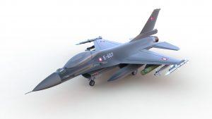 دانلود پروژه طراحی هواپیمای جنگنده اف F16 (2)