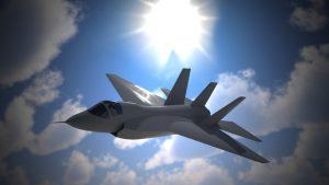 دانلود پروژه طراحی هواپیمای جنگنده اف F35 + توربین، EPU و APU (1)