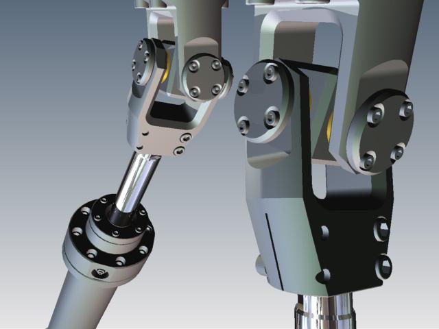 دانلود پروژه طراحی پلتفرم استوارت (ربات موازی) parallel manipulator (1)