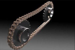 دانلود پروژه طراحی چرخ زنجیر (sprocket)