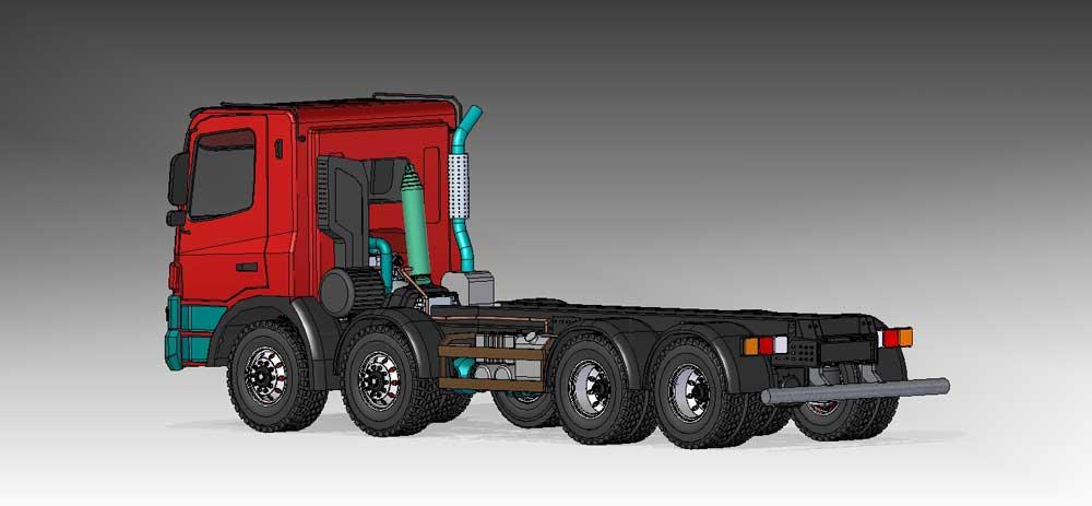 دانلود پروژه طراحی کامیون تاترا فونیکس 8x8 با جزییات کامل (3)