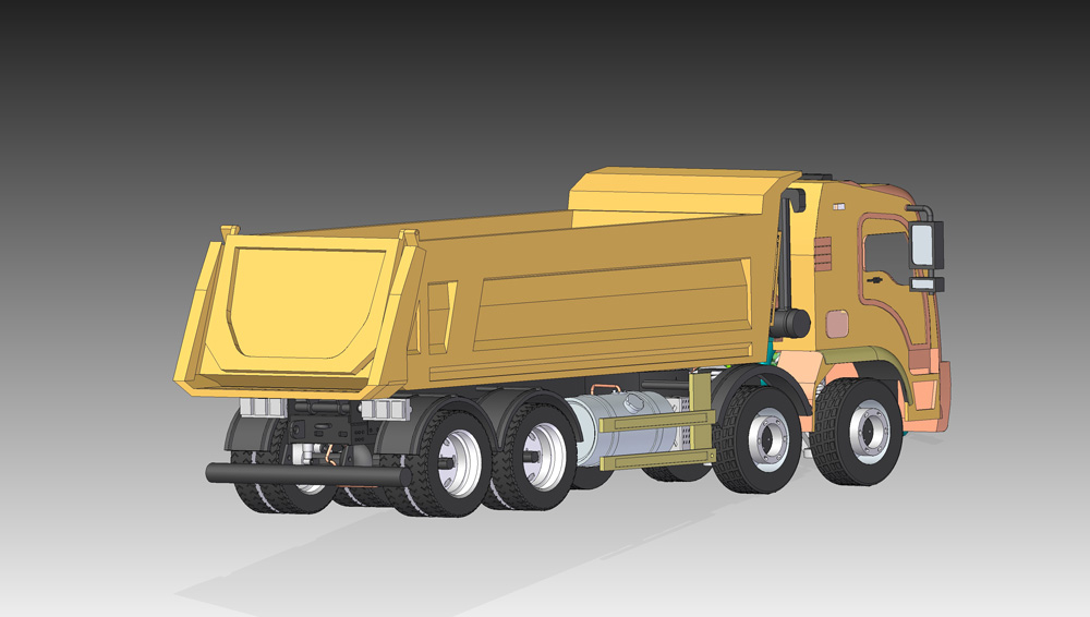 دانلود پروژه طراحی کامیون معدن با جزییات کامل (1)