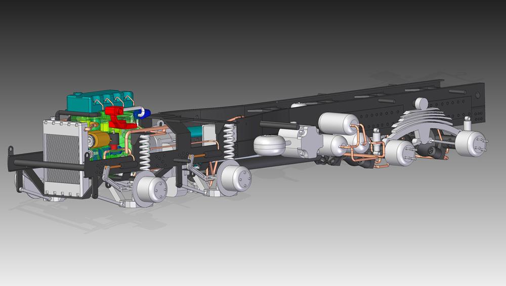 دانلود پروژه طراحی کامیون معدن با جزییات کامل (3)