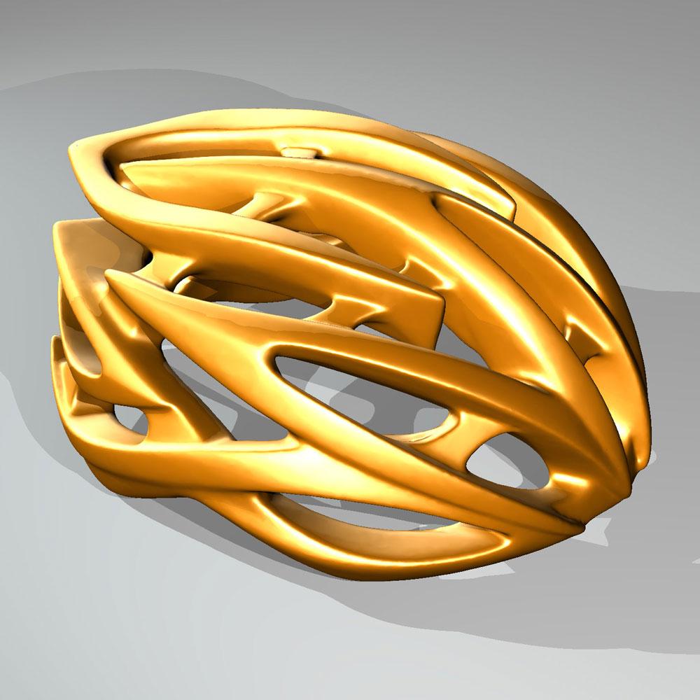 دانلود پروژه طراحی کلاه ايمنی دوچرخه پرینت سه بعدی (2)