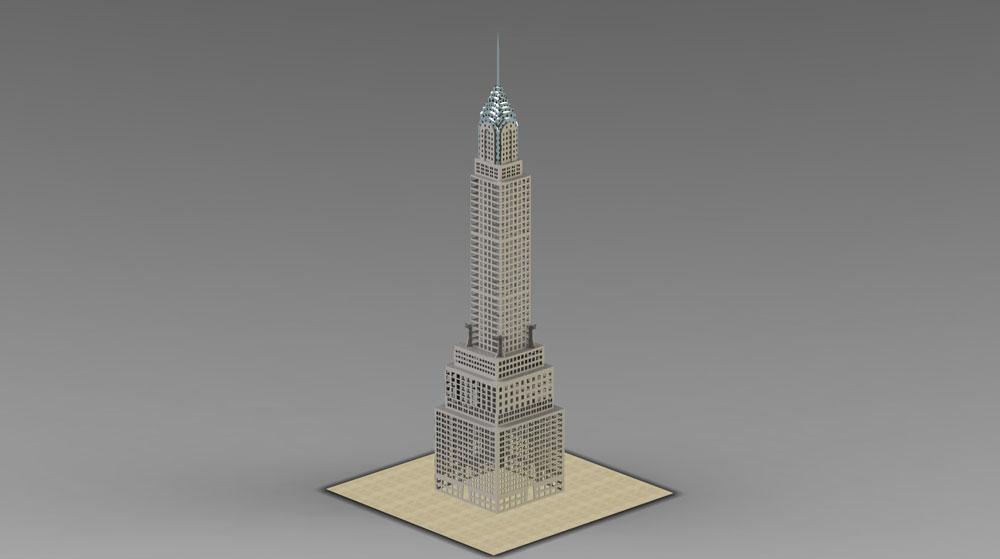دانلود پروژه طراحی برج کریستالی پازلی
