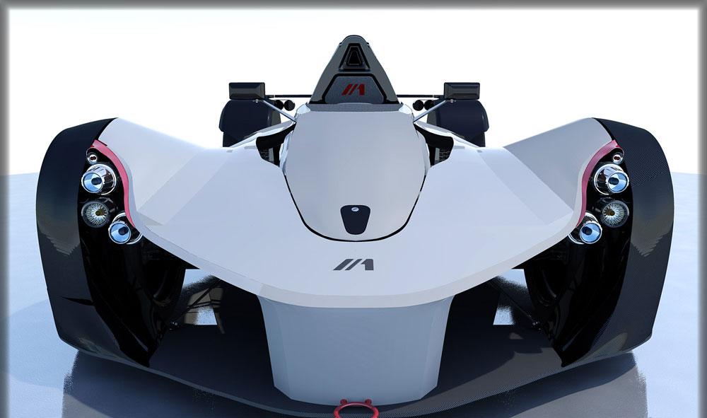 دانلود پروژه طراحی خودرو مسابقه فرمول یک بک مونو Bac Mono (3)