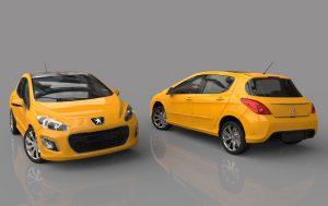 دانلود پروژه طراحی خودرو پژو 308 Peugeot