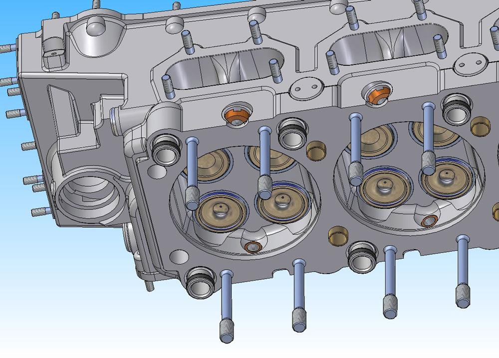 دانلود پروژه طراحی سر موتور هواپیما رولز رویس مرلین (1)