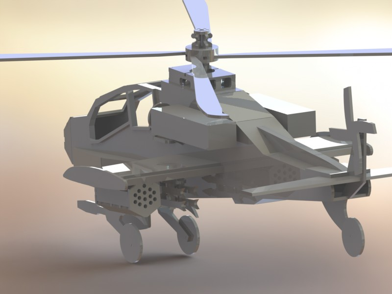دانلود پروژه طراحی هلیکوپتر ایاچ-۶۴ آپاچی بوئینگ Apache Helicopter AH-64 (3)