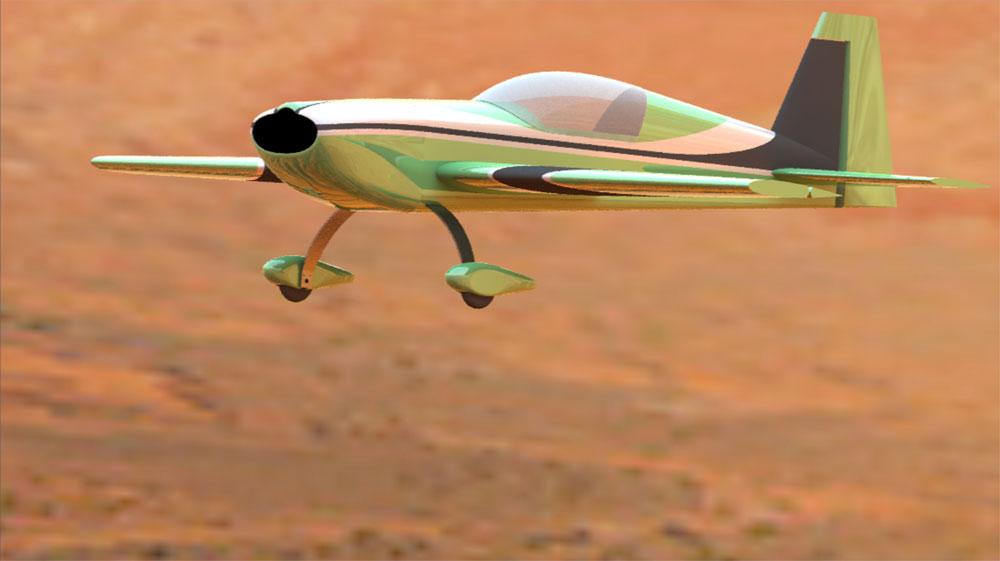 دانلود پروژه طراحی هواپیما اکسترا Extra 300 (2)
