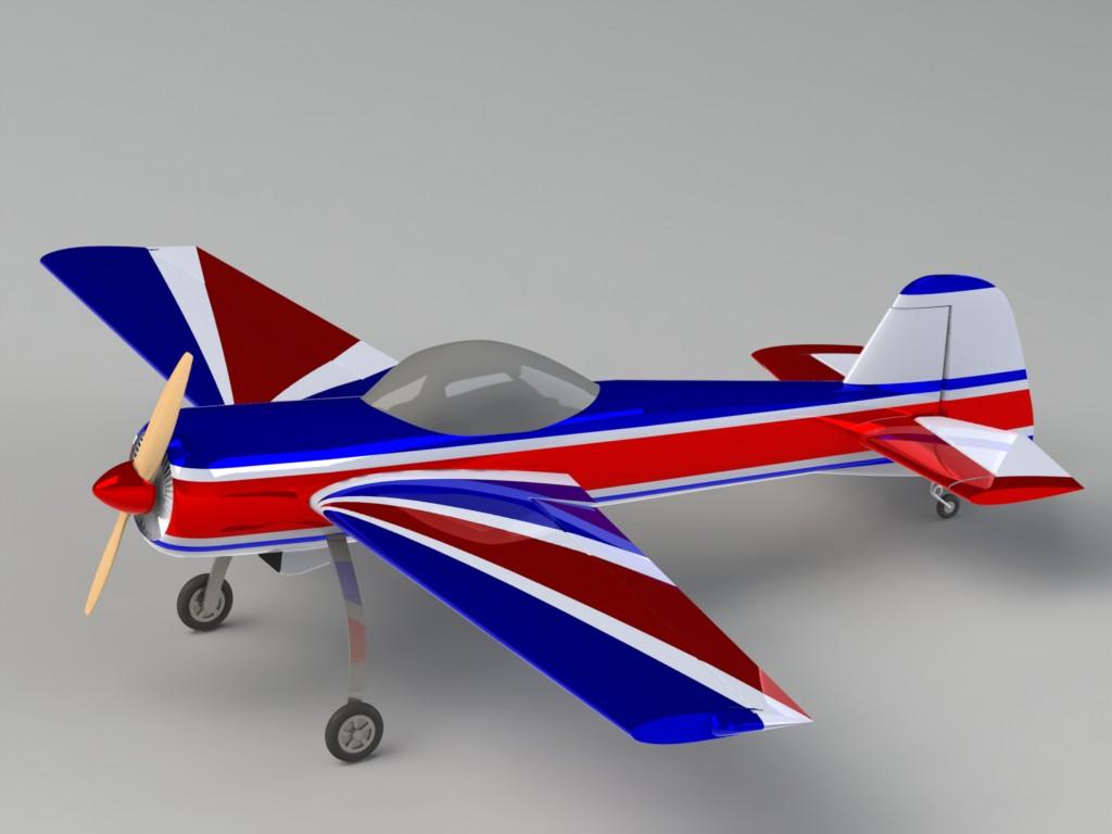 دانلود پروژه طراحی هواپیما رادیو کنترلی یاک Yak-55 RC (1)