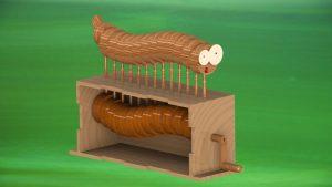 دانلود پروژه طراحی اسباب بازی مار چوبی