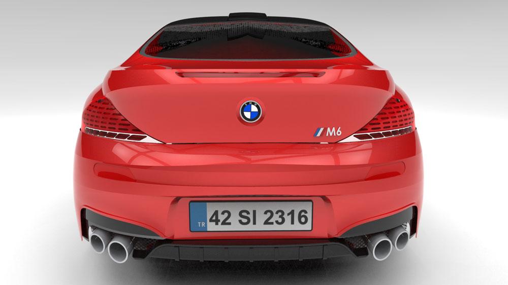 دانلود پروژه طراحی خودرو ابی ام و ام ۶ اسپرت BMW M6 Sport (2)