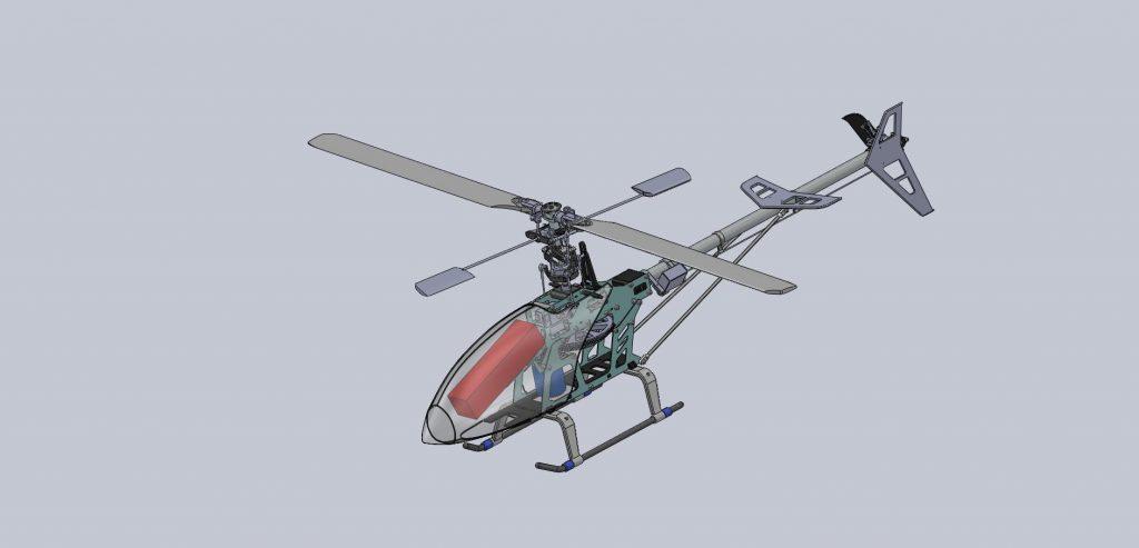 دانلود پروژه طراحی هلیکوپتر رادیوکنترلی RC Helicopter