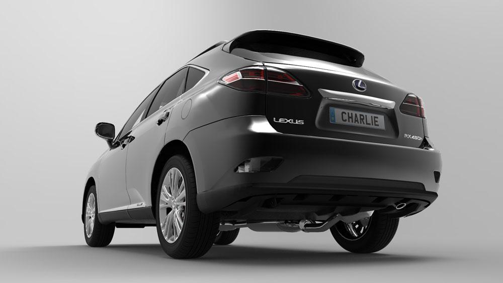 دانلود پروژه طراحی خودرو لکسوس آر ایکس lexus rx 450h (1)