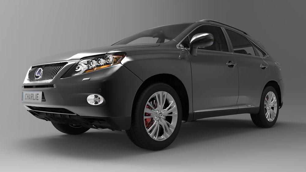 دانلود پروژه طراحی خودرو لکسوس آر ایکس lexus rx 450h (2)