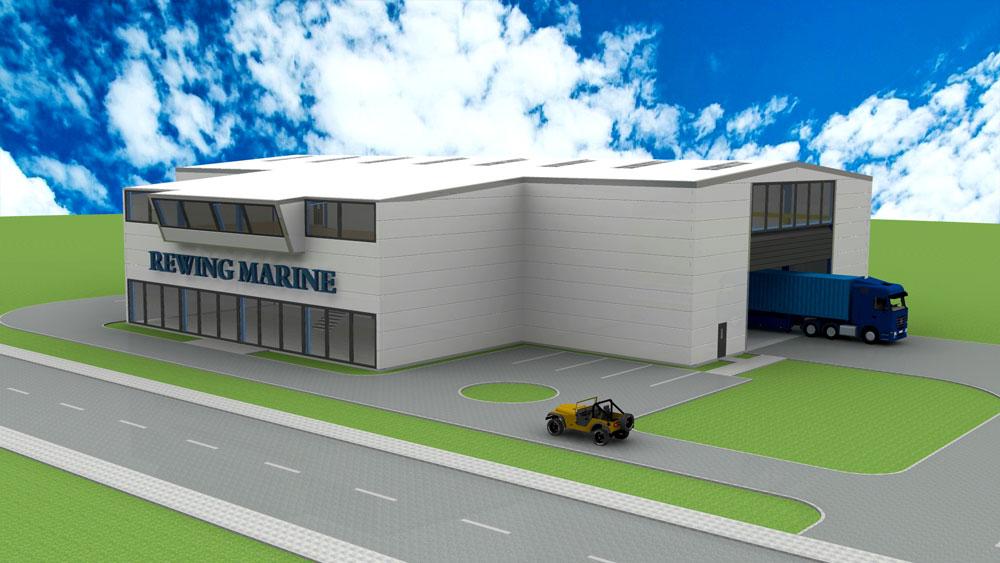 دانلود پروژه طراحی سوله مدرن (سالن صنعتی) (3)