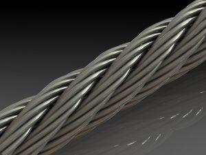 دانلود پروژه طراحی طناب فولادی (سیم بکسل)