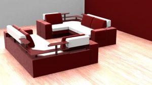 دانلود پروژه طراحی مبل راحتی کاناپه 2