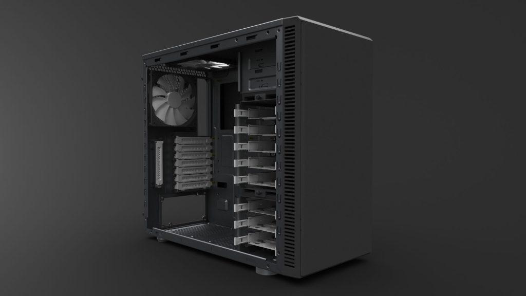 دانلود پروژه طراحی کیس کامپیوتر PC Case