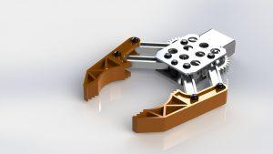 دانلود پروژه طراحی گریپر ربات Robot gripper