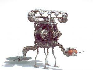 دانلود پروژه طراحی حشره فانتزی رباتیک