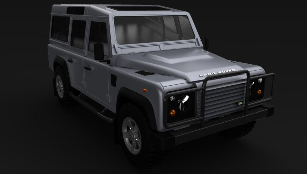 دانلود پروژه طراحی خودرو لندرور Landrover 110 (2)