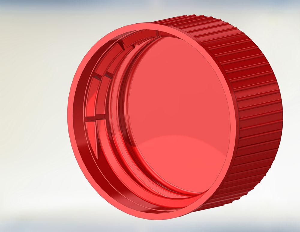 دانلود پروژه طراحی درب بطری پلاستیکی (1)