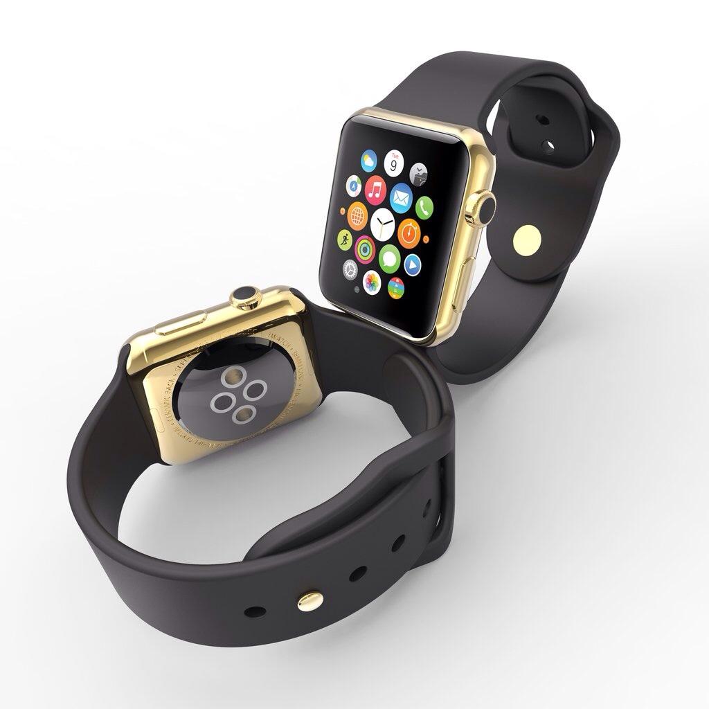 دانلود پروژه طراحی ساعت اپل واچ