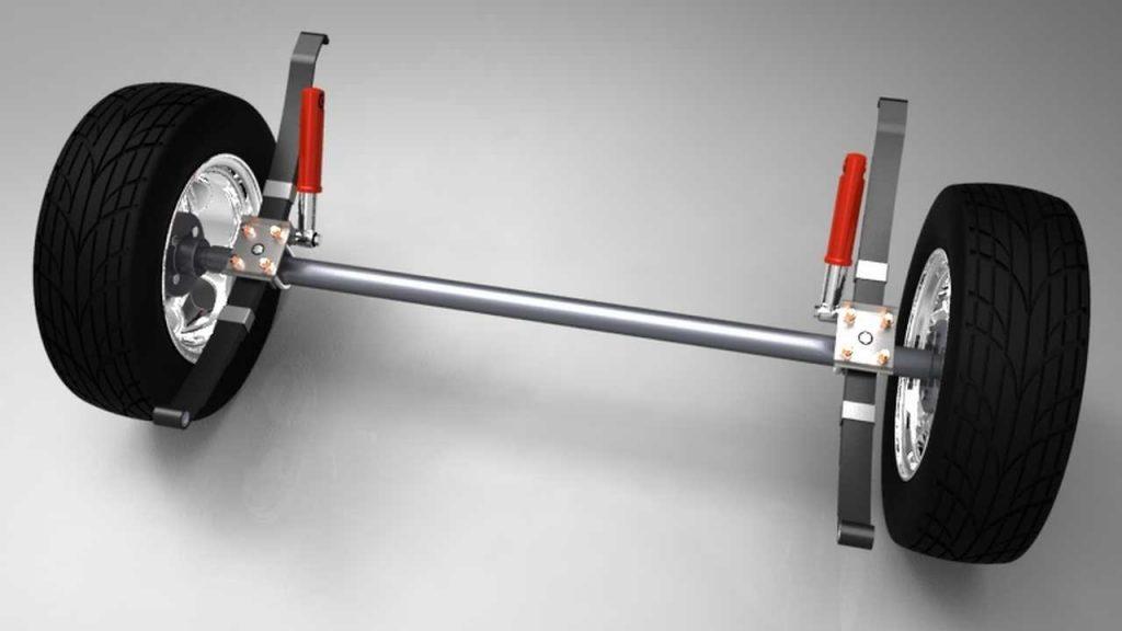 دانلود پروژه طراحی سیستم تعلیق تریلر کامیون (2)