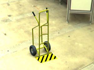 دانلود پروژه طراحی چرخ دستی حمل بار صنعتی