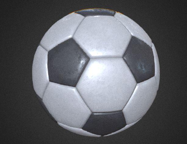 دانلود پروژه طراحی توپ فوتبال کلاسیک