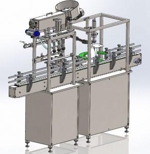 دانلود پروژه طراحی دستگاه پر کردن و بسته بندی بطری (2)