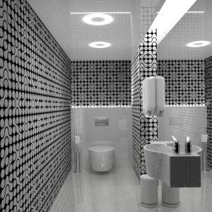دانلود پروژه طراحی سرویس بهداشتی , دستشویی و توالت مدرن