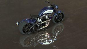 دانلود پروژه طراحی موتورسیکلت هارلی دیویدسون