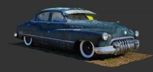 دانلود پروژه طراحی خودرو کلاسیک بیوک 1950
