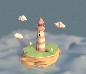 دانلود پروژه طراحی فانوس دریایی فانتزی