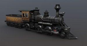 دانلود پروژه طراحی قطار (لوکوموتیو) کلاسیک