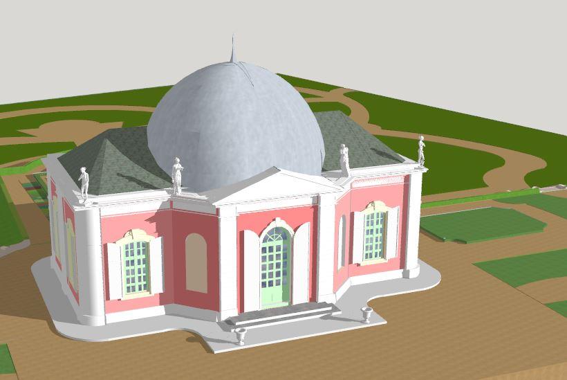 دانلود پروژه طراحی مسجد مدرن